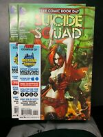 SUICIDE SQUAD #1 NM/MT  FCBD FREE COMIC BOOK DAY (2016) HARLEY QUINN DEADSHOT NM