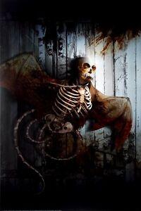 FLEDERMAUS - SKLETT - Poster - Gothic - Alchemy