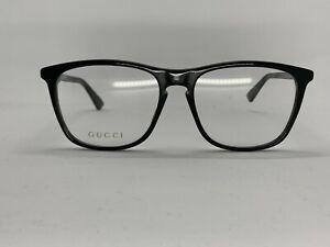 GUCCI GG03320 005 BLACK UNISEX FRAMES SIZE 56X17X145