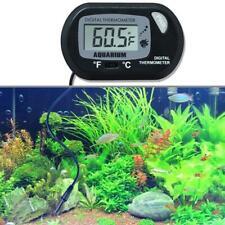 1x Lcd Digital Fish Tank Reptile Aquarium Water Meter Temperature Y1B6