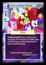 3x I Got a Golden Ticket! - 107 - My Little Pony Canterlot Nights MLP CCG