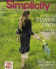 Counter Sewing Patterns Catalog Simplicity 2018 Fall Good Condition 920 Pages
