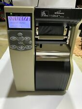Zebra 110Xi4 Barcode Label Printer with Network Card