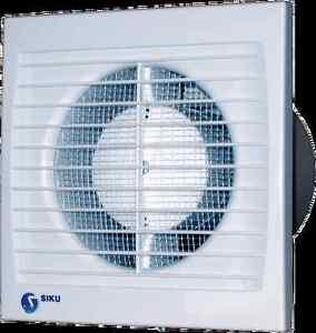 Einbaulüfter Minilüfter  Badlüfter Ventilator für Rohr 100 Durchmesser