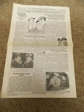 PACK UP YOUR TROUBLES(1932)LAUREL & HARDY REPRODUCTION PRESSBOOK NICE!