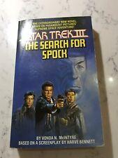 More details for star trek iii the search for spock vintage pocket book 1984 vonda mcintyre rare
