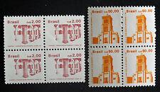 Sello BRASIL / BRAZIL Stamp - Yvert y Tellier n°1825 à 1844 (x4) N (Cyn20)