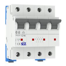 Leitungsschutzschalter C16A 3-Polig+N 10kA VDE Sicherung Automat LS-Schalter SEZ