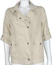 New Target Collection Women's Utility Jacket in Taupe Colour  Size 10