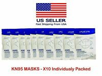 10 SEALED PACKS OF Face Protection Masks NEW !!!