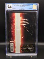 Star Wars: The Force Awakens Adaptation #5 Movie Variant CGC 9.6