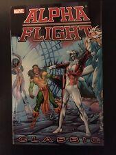Alpha Flight Classic John Byrne Marvel Comics Book TPB Trade Paperback New Vol 3
