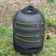 Portable Outdoor Cookware Camping Picnic Cooking Nonstick Bowl Pan Pots Set