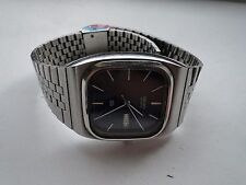 VINTAGE RETRO JAPANESE WATCH, SEIKO, 1980S, STAINLESS STEEL, COOL RETRO SHAPE