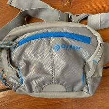 OUTDOOR PRODUCT Echo Waistpack 3 Liter Gray Silver Blue Hiking Fanny Pack Pocket