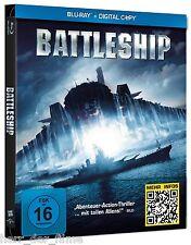 BATTLESHIP (Taylor Kitsch, Liam Neeson) Blu-ray Disc, Steelbook NEU+OVP