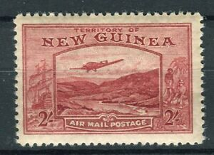 New Guinea KGVI 1939 Airmail 2s dull lake SG222 MLH