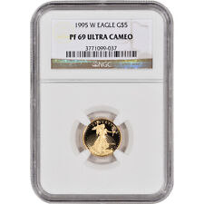 1995-W American Gold Eagle Proof (1/10 oz) $5 - NGC PF69 UCAM
