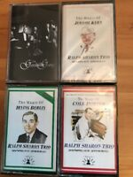 Ralph Sharon Trio Cole Porter Irving Berlin Jerome Kern Gershwin 4 Cassettes exc