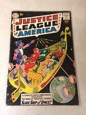 Justice League Of America #3 Flash, Green Lantern, Wonder Woman, 1961 Aquaman