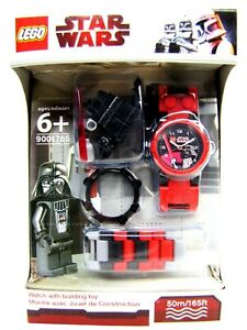 Lego Star Wars Darth Vader Minifigure Watch NEW Lego Time 9001765 Sealed NEW