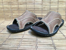 MEN's ROCKPORT LEATHER SANDALS, MEN's SIZE 12M, SERIOUSLY NEAR MINT CONDITION!