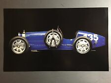 1925 Bugatti Type 35 Roadster Print, Picture, Poster RARE!! Awesome L@@K
