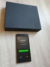 Razer Phone 64GB Nero (Sbloccato) Cellulare in scatola + Rapido e gratuito UK 🇬 🇧 post!