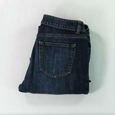 CABI Jeans Women Low Rise Boot Cut Mid Wash Size 8