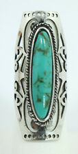 Vintage Style Bohemian Faux Oval Turquoise Ring