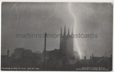 Thunderstorm at Mere, Wiltshire Postcard B774