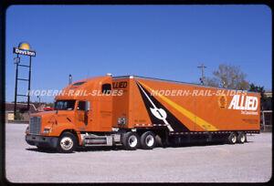 Original slide: Semi-truck tractor trailer: Allied Van Lines 38914 FREIGHTLINER