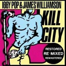 Kill City [Restored Edition] by James Williamson/Iggy Pop (Vinyl, Oct-2010, Alive)
