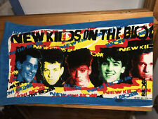 New W Tag Vintage Nkotb New Kids On The Block Beach Towel