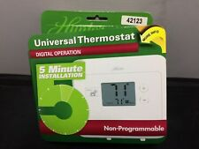 New Hunter Heat Cool 42123 Electronic Thermostat NON-Programmable