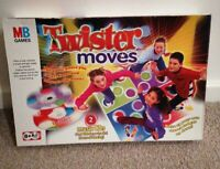 Vintage Hasbro Twister Moves Game - 4 Dance Mats + 2 Music CDS