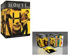 HOUSE M.D. 1-8 (2004-2012): COMPLETE TV MD Drama Seasons Series - NEW US Rg1 DVD