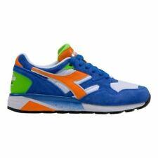 Diadora Sportswear N9002 Shoes, Blue/Orange, Retail $120