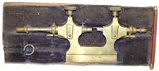 Vintage Jacot Pivot Lathe Polishing Tool Tour A Pivoter Watchmaker Jeweler Brass