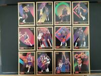 1990-91 Skybox Cleveland Cavs Team Set (12 Cards) Kerr, Price, Nance, Ferry RC