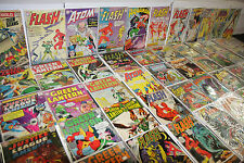 VINTAGE DC LOW GRADE SILVER JUSTICE LEAGUE OF AMERICA TITLES 56pc JLA (2.0-5.0)