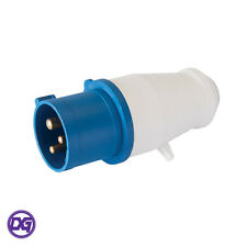 16 Amp 3 Pin Plug 220 - 240 V Weatherproof to ip44 16 A Générateur Camper