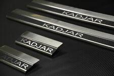 Edelstahl Carbon Style Einstiegsleisten für Renault Kadjar