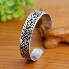 Irish Knot Men Magnetic Health Bracelet Women Bangle Bracelets Free Shipping