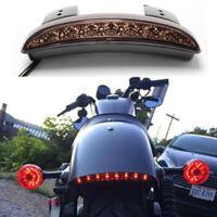 Motocycle LED Brake Tail Lights Fender Edge For Harley Davidson Iron 883 XL883N