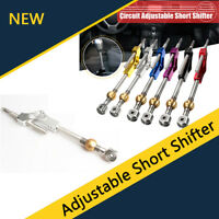 Car Silver Short Shifter Extender Adjustable for Honda Acura B/D Series Engine