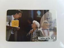 Télécarte - FRANCE TÉLÉCOM - A qui parlerez vous aujourd'hui   (A8119)