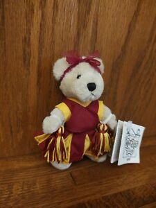 "Ganz Wee Bear Village 5"" Buffy Cheerleader Bear Plush H5120"