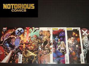 X-Men 7 8 9 10 11 12 Complete Dawn of X Comic Lot Run Set X of Swords Marvel