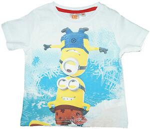 T-Shirt Kurzarmshirt MINION Minions Kinder kurzarm Shirt Jungen 98 104 116 128